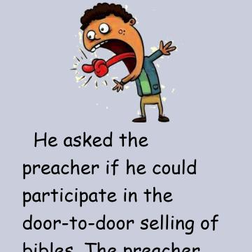A Young Man With A Stutter Sells Bibles